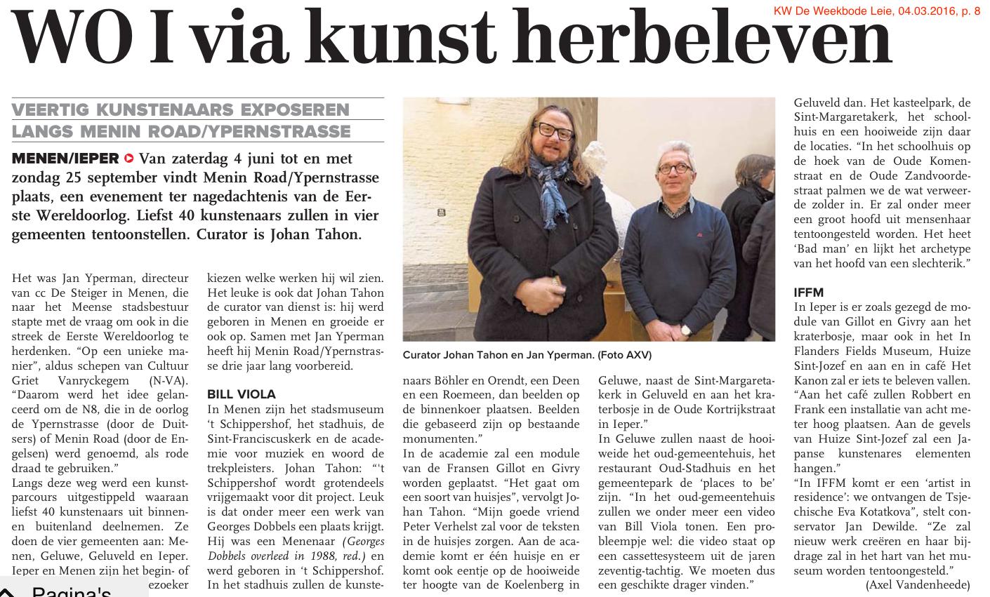 KW De Weekbode Leie, 04.03.2016