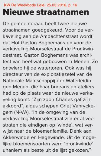 KW De Weekbode Leie, 25.03.2016