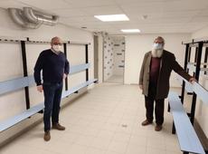 Schepen Renaat Vandenbulcke en schepen Herman Ponnet
