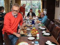 Eerst gezellig ontbijten